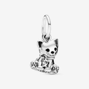 🌸Pandora Kitty-Cat Dangle Charm